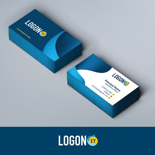 Logo and card