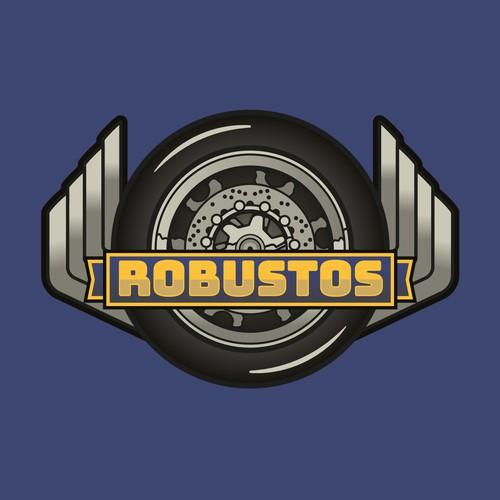 Retro logo design for bike and car club