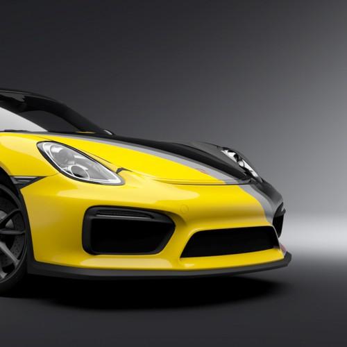 Porsche Cayman GT4 Livery