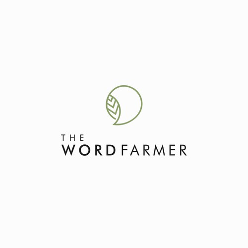 Logo concept for  The Word Farmer