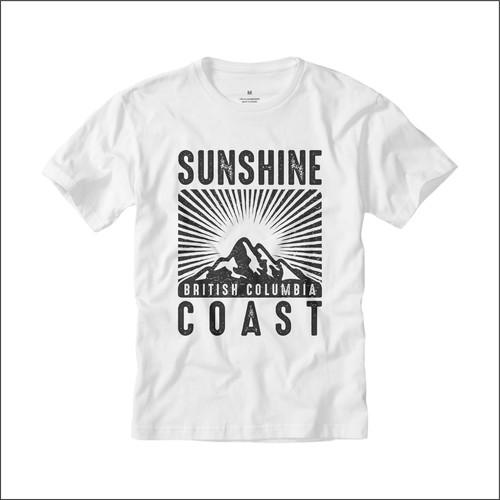 Create a hipster design for the Sunshine Coast