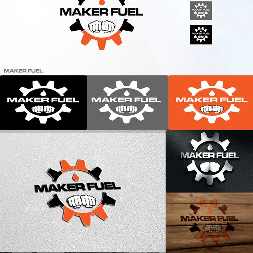 Logo for engineering company with various editions