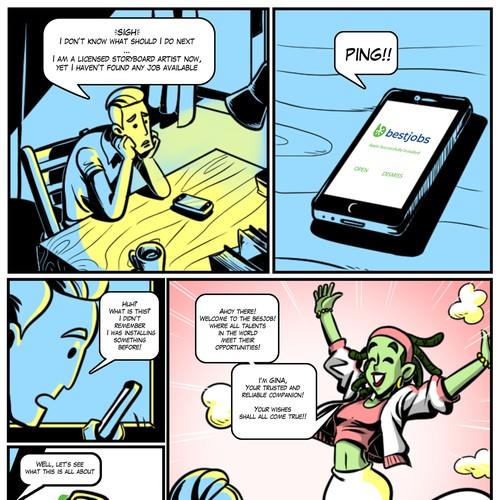 comic strip classic styles