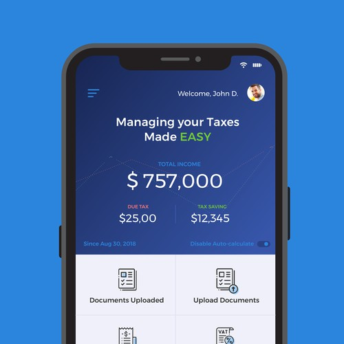 Tax Management App