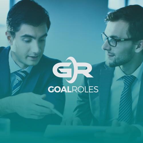 GOALROLES logo design