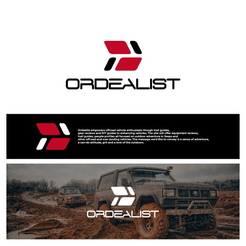 Logo concept for offroad enthusiast