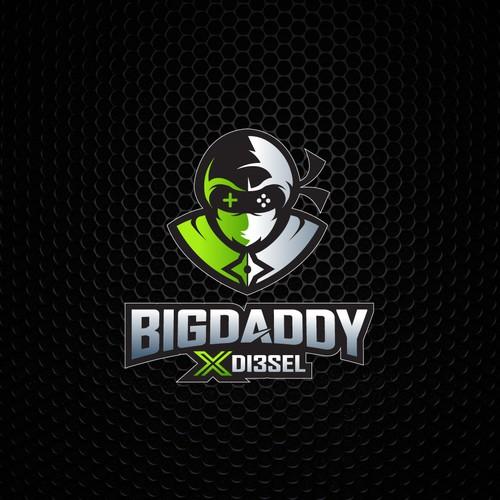 Icon logo design concept for Bigdaddy X Diesel