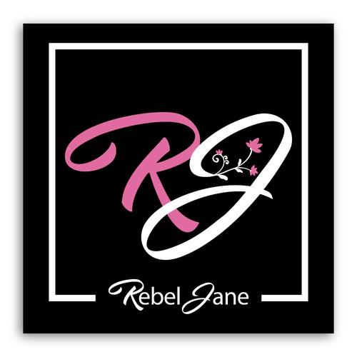 Rebel Jane Fashion logo design