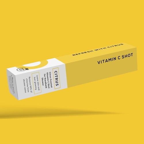 Vitamin Shower Inserts Packaging