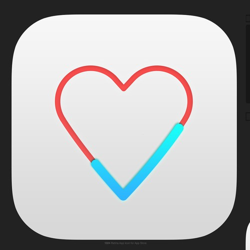 Icon concept for health app