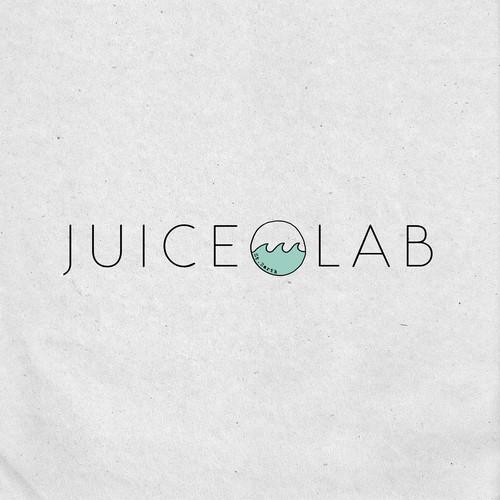 Juice Lab logo concept