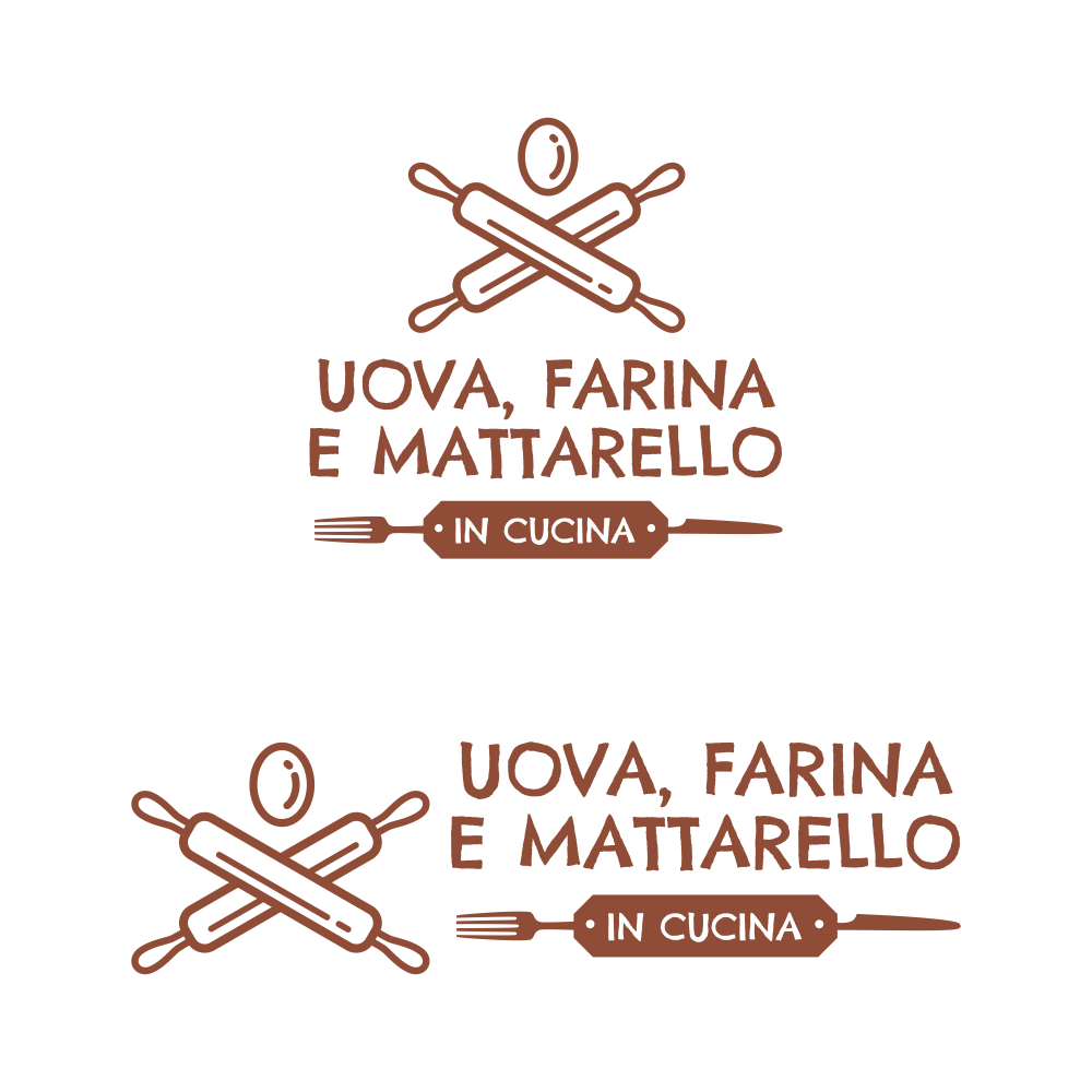 crea un logo per negozio pasta fresca e rosticceria