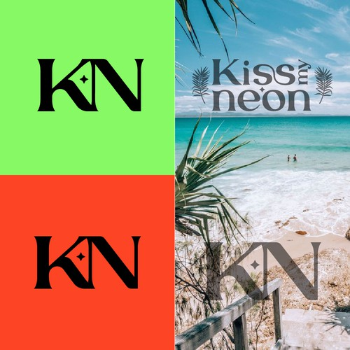 Logo Concept for Kiss My Neon