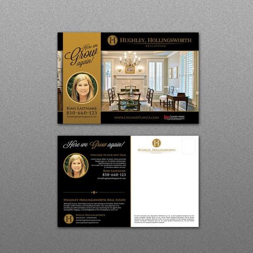 Real Estate Post Card Design