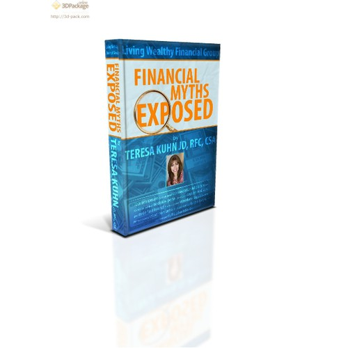 Create A Book Cover for Living Wealthy Financial Group!