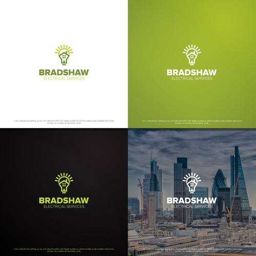 Logo for electrical services company