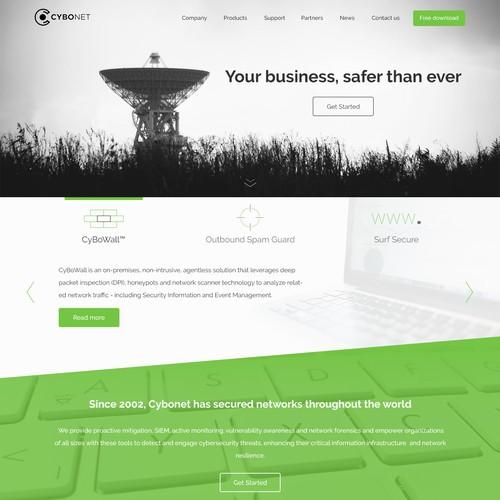 Cyber security website