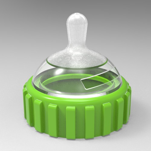 Top of a Baby bottle