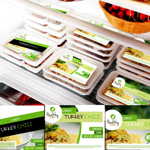 food label for healthy ready