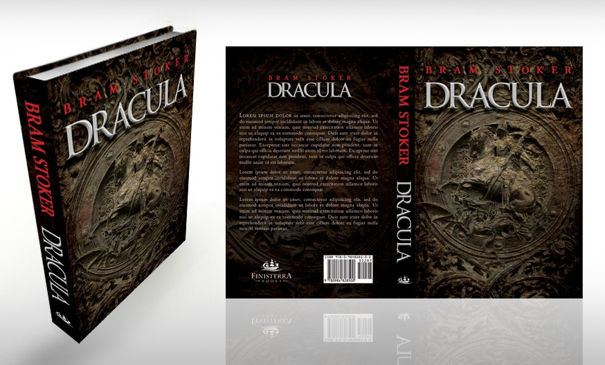 Book cover design wanted for Bram Stoker's 'Dracula'