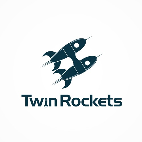 Create the next logo for Twin Rockets