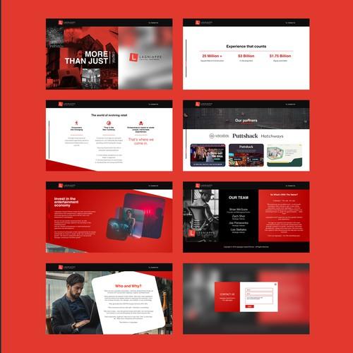 Lagniappe Capital Partners Webdesign