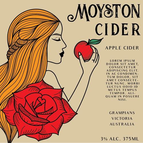 Label for apple cider