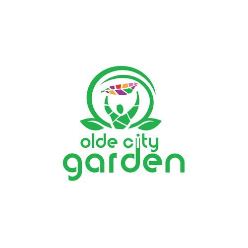Logo for garden business