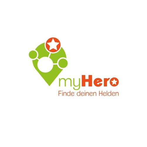 Logo - myHero