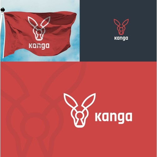 Bold logo for Kanga