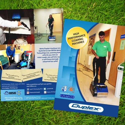 Duplex Cleaning flyer design