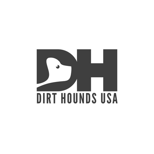 Logo for Dirt Hounds USA.