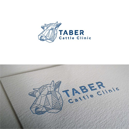 Logo concept for cattle clinic