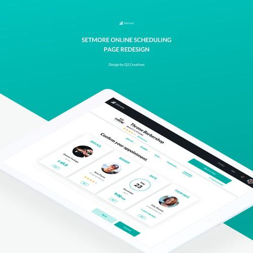 Online schedule design