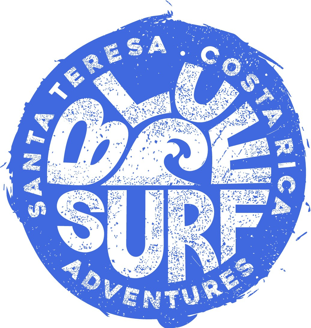 Vintage Surf Tee for Costa Rica Surf Destination