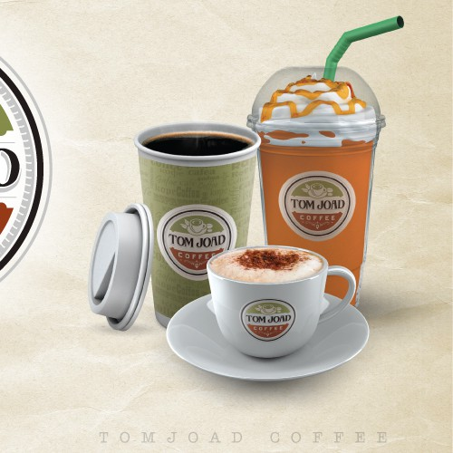 Create the next logo for Tom Joad Coffee