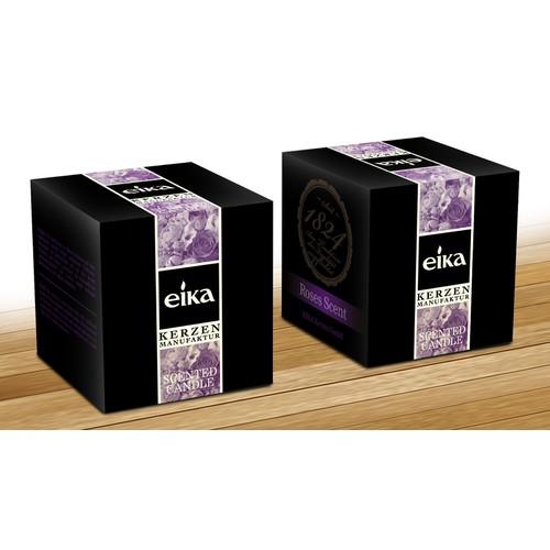 product packaging für EIKA Kerzen GmbH