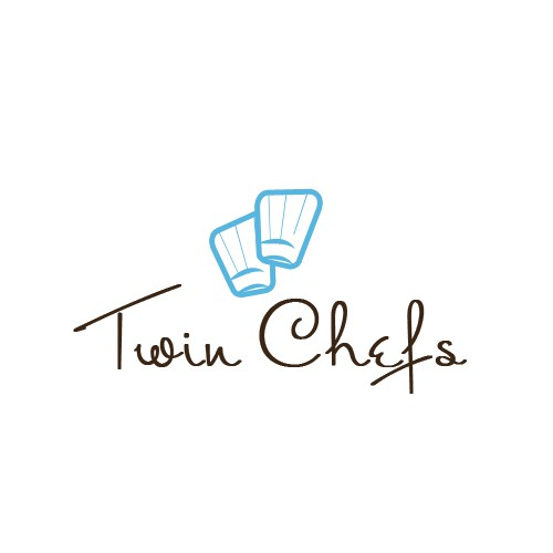 Adorable 8 year old twin chefs need a logo