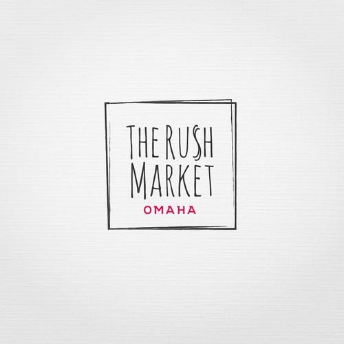 logo concept for temporary market