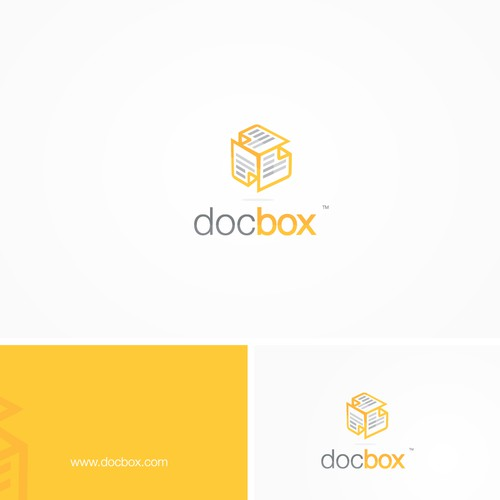 Logo and Business Card - Doc Box