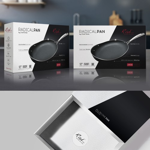 RadicalPan by Chef Oren, packaging design