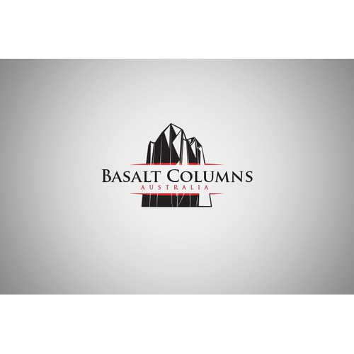 Basalt Columns Australia - Logo Design