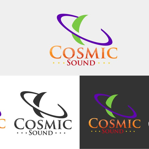 Create the next logo for Cosmic Sound