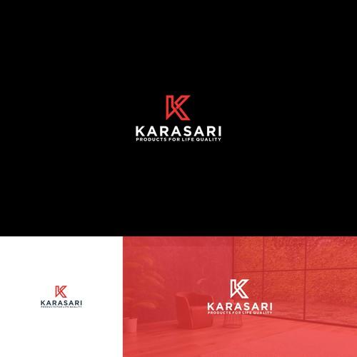 k modern letter