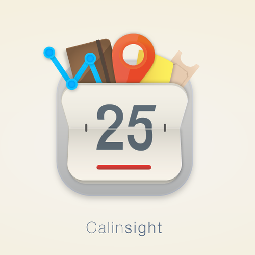 Mac App icon for Calendar App