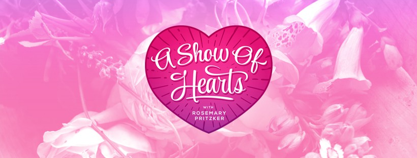 "Inspiring Podcast ""A Show of Hearts"" Needs Artful, Bright, Beautiful Logo"
