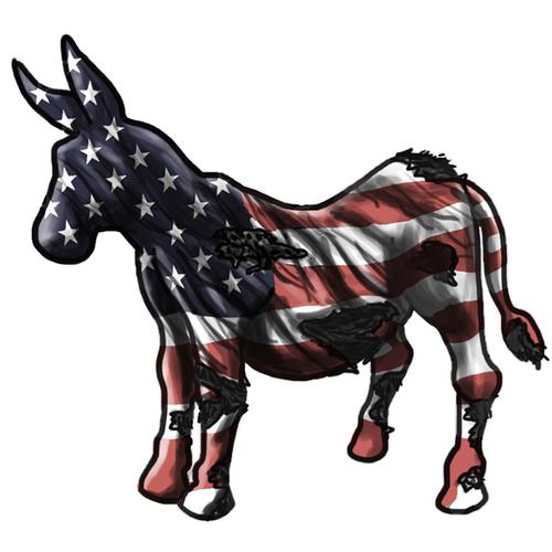 Sway Back Donkey