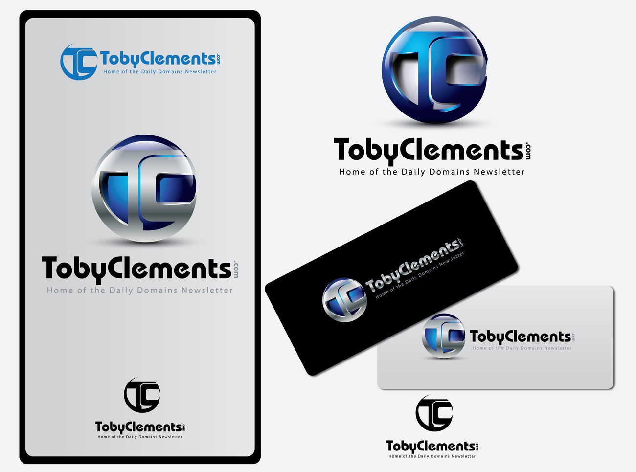 Help TobyClements.com with a new logo