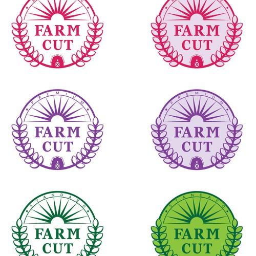 Logo for farming company
