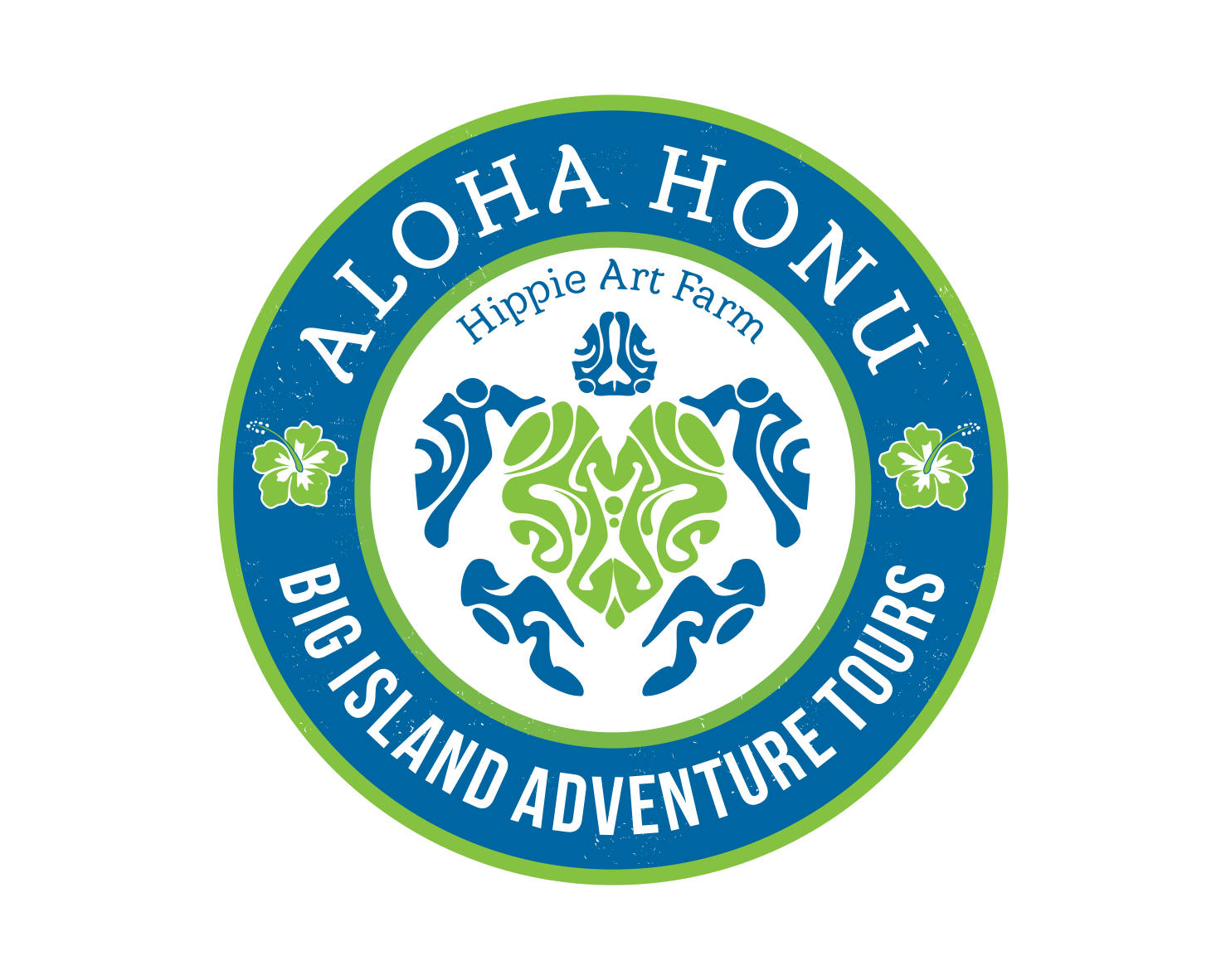 Awesome & FUN logo for Aloha Honu (tropical hawaiian retreat and tours)